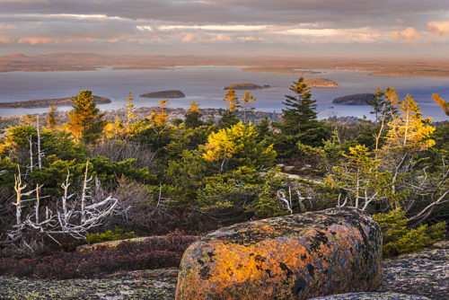 #213 - Last Light - Cadillac Mountain  - Acadia National Park - Maine